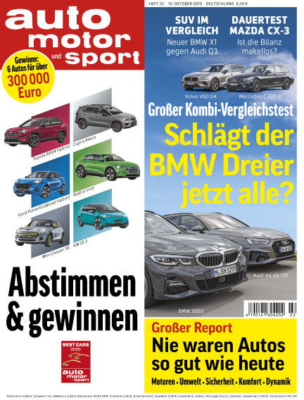 auto motor und sport October 09, 2019 00:00