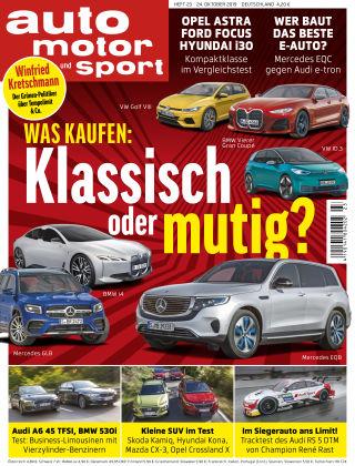 auto motor und sport 23 2019