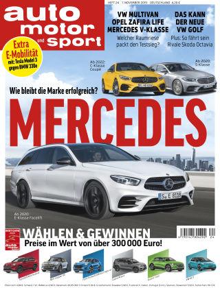 auto motor und sport 24 2019