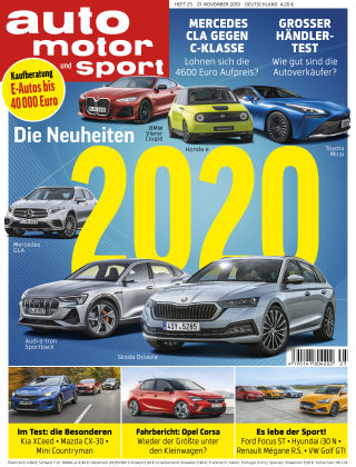 auto motor und sport 25 2019