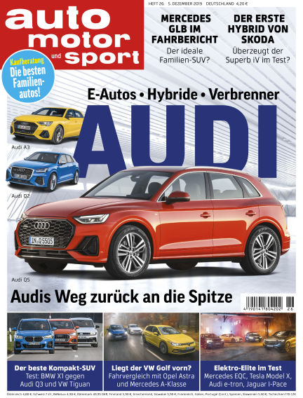 auto motor und sport December 04, 2019 00:00