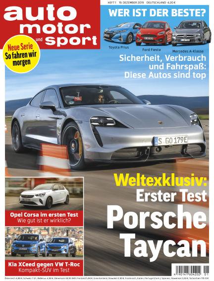 auto motor und sport December 18, 2019 00:00