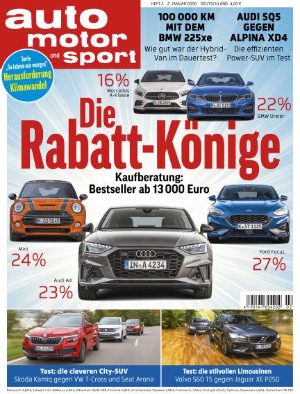 auto motor und sport January 01, 2020 00:00