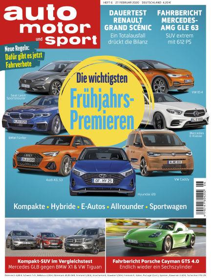 auto motor und sport February 27, 2020 00:00