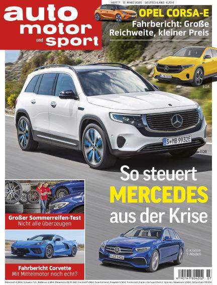 auto motor und sport March 12, 2020 00:00