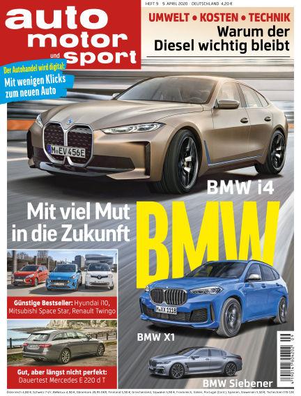 auto motor und sport April 08, 2020 00:00