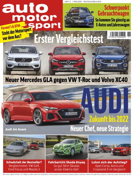 auto motor und sport May 06, 2020 00:00