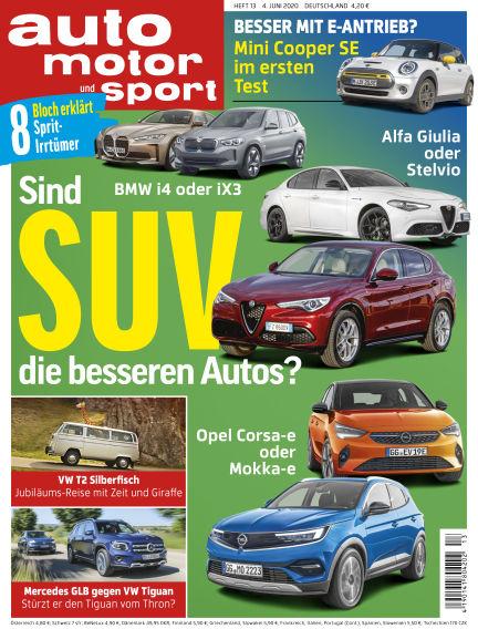 auto motor und sport June 03, 2020 00:00