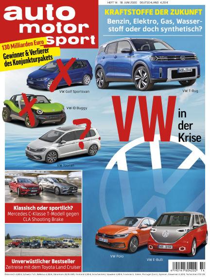 auto motor und sport June 18, 2020 00:00