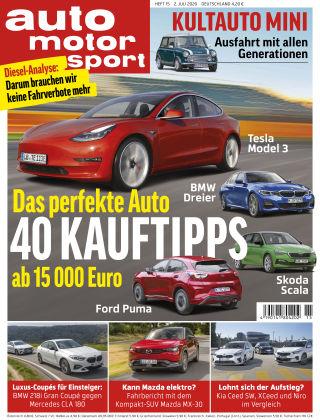 auto motor und sport 15 2020