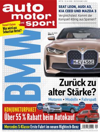 auto motor und sport 16 2020
