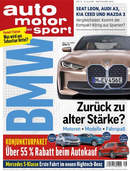 auto motor und sport July 16, 2020 00:00