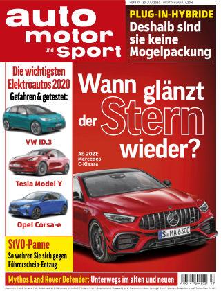 auto motor und sport 17 2020