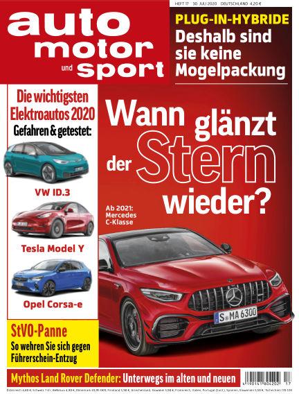 auto motor und sport July 29, 2020 00:00