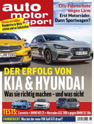 auto motor und sport 18 2020