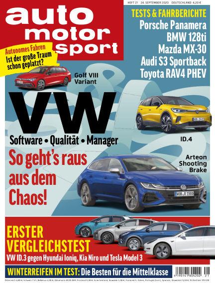 auto motor und sport September 24, 2020 00:00