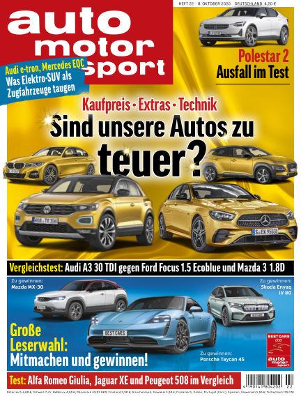 auto motor und sport October 07, 2020 00:00