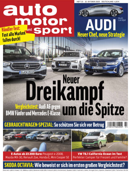 auto motor und sport October 22, 2020 00:00