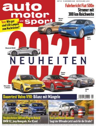 auto motor und sport 25 2020