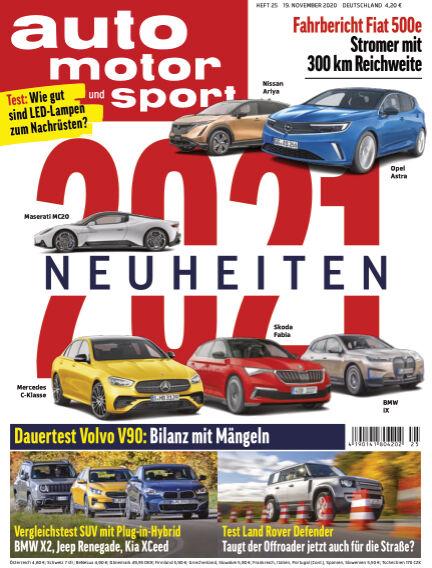 auto motor und sport November 19, 2020 00:00