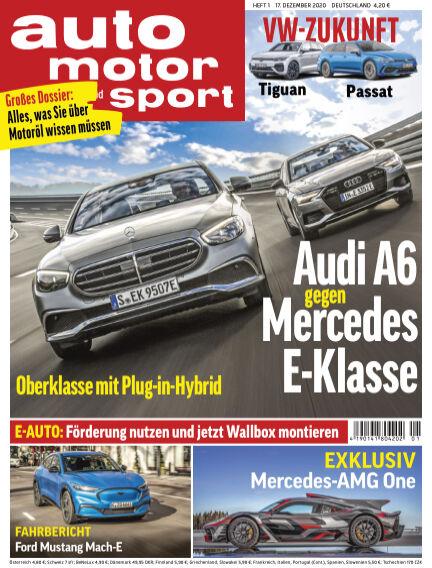 auto motor und sport December 16, 2020 00:00