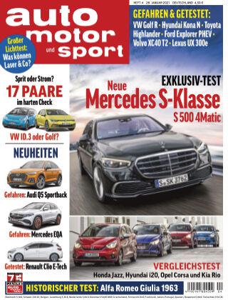 auto motor und sport 04 2021