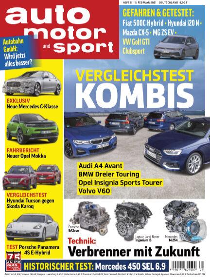 auto motor und sport February 10, 2021 00:00