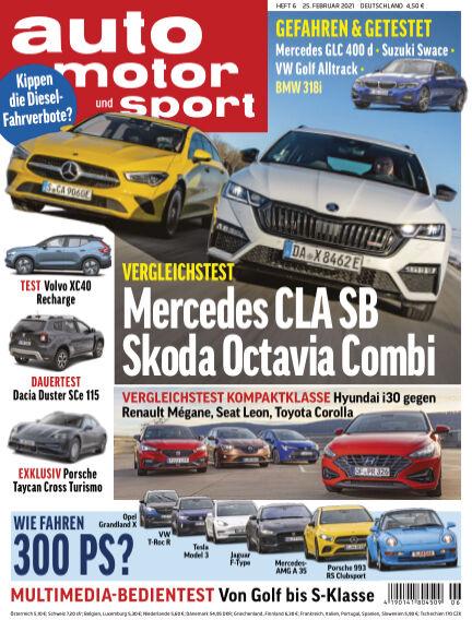 auto motor und sport February 25, 2021 00:00