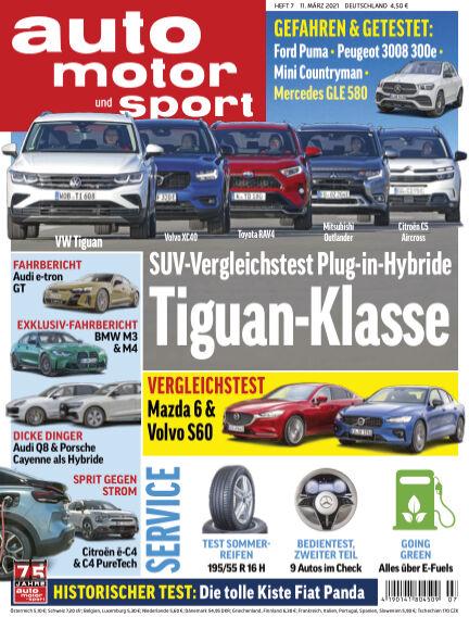auto motor und sport March 10, 2021 00:00