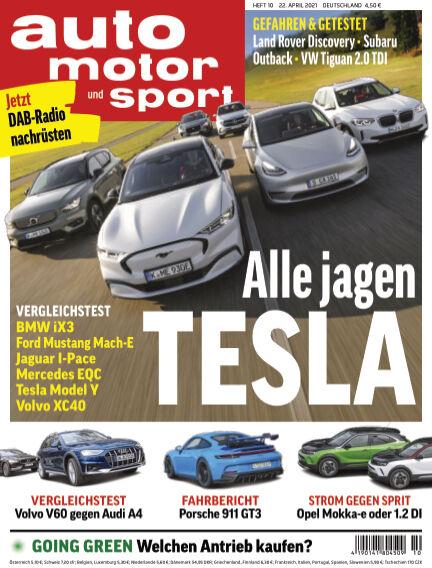 auto motor und sport April 21, 2021 00:00