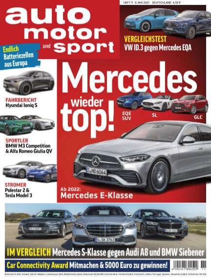 auto motor und sport May 05, 2021 00:00