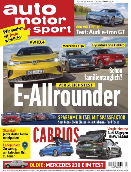 auto motor und sport May 20, 2021 00:00