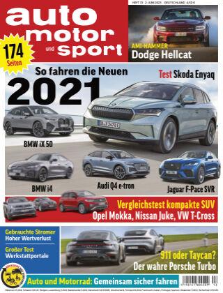 auto motor und sport 13 2021