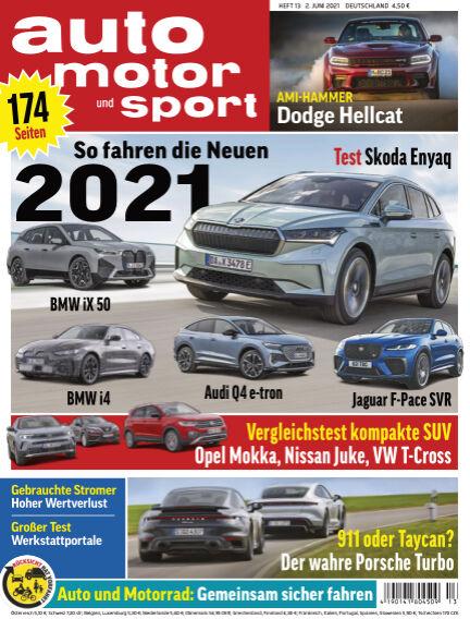 auto motor und sport June 02, 2021 00:00