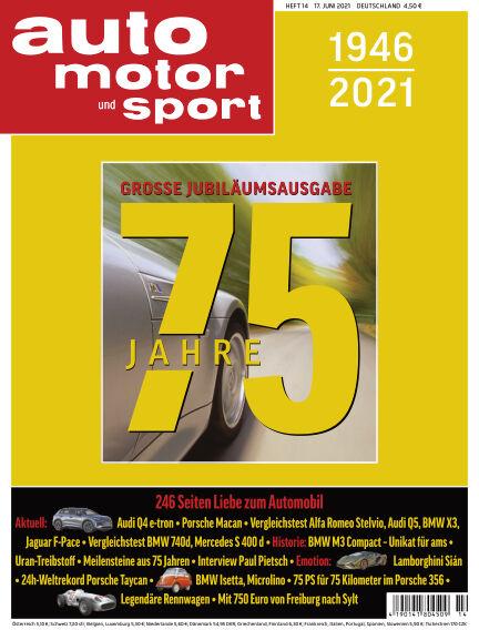 auto motor und sport June 16, 2021 00:00