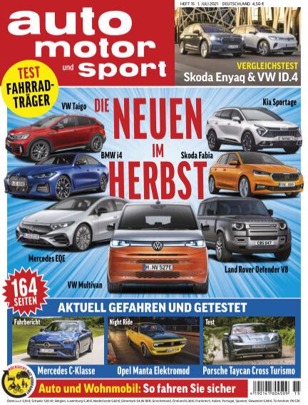 auto motor und sport June 30, 2021 00:00