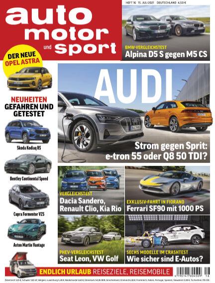 auto motor und sport July 14, 2021 00:00