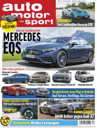 auto motor und sport 17 2021