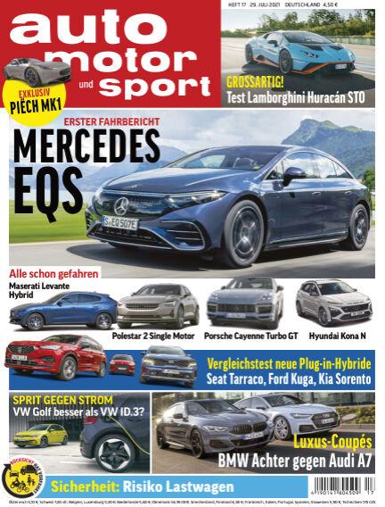 auto motor und sport July 28, 2021 00:00