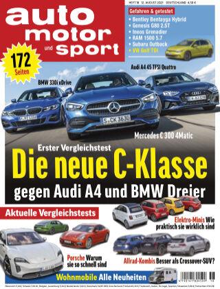 auto motor und sport 18 2021