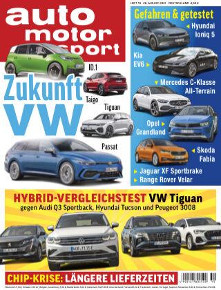 auto motor und sport 19 2021