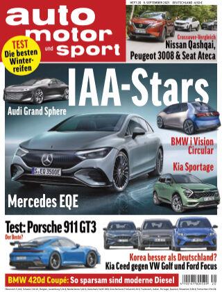 auto motor und sport 20 2021