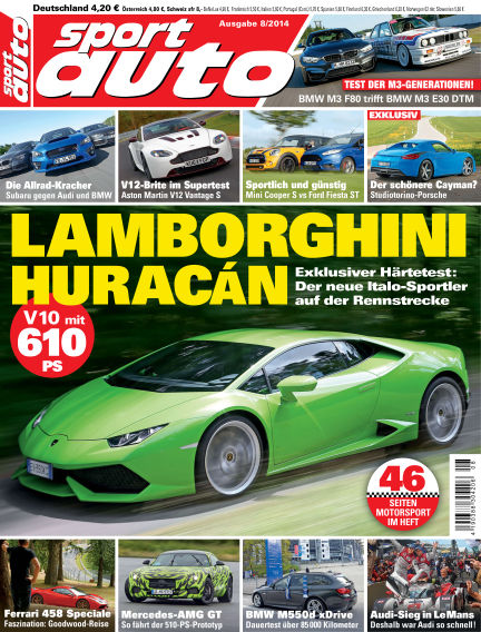 sport auto July 18, 2014 00:00