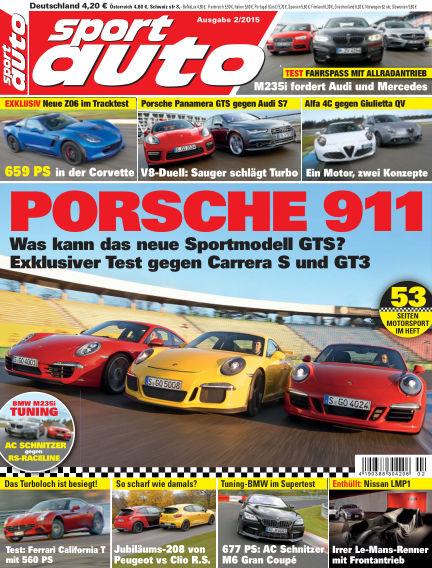 sport auto January 16, 2015 00:00