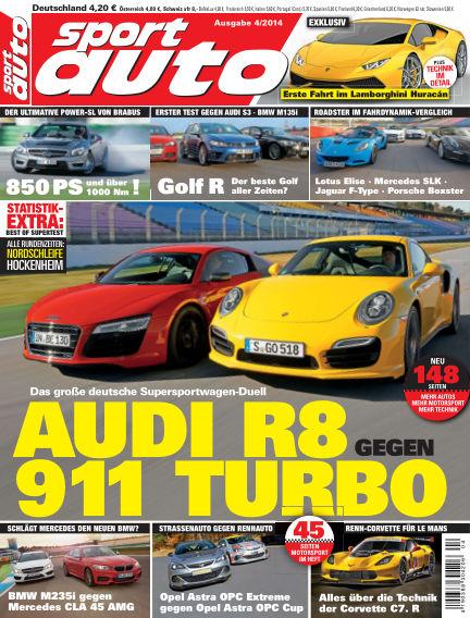 sport auto March 14, 2014 00:00