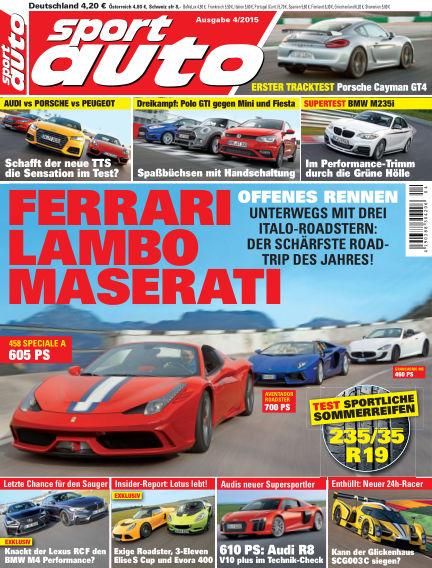 sport auto March 13, 2015 00:00