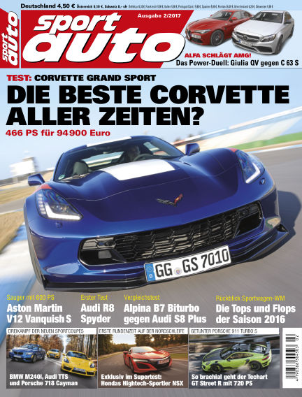 sport auto January 13, 2017 00:00