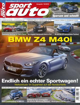 sport auto 10/2018