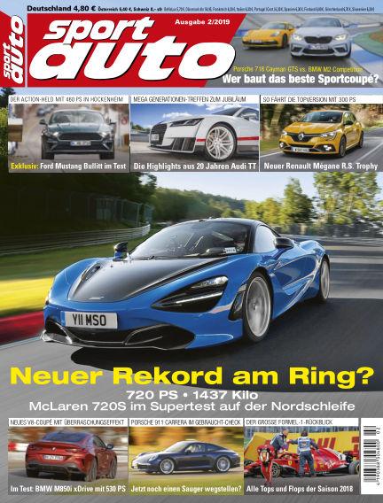 sport auto January 11, 2019 00:00