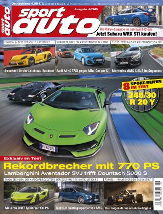 sport auto 04 2019
